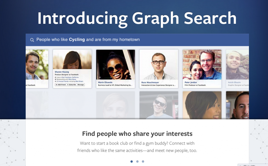Facebook Graph Search for healthcare marketing