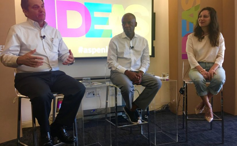 Quaintise Founder and President, Raquel Baldelomar, Served as a Speaker at the Aspen Ideas Festival